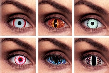 The Dangers of Halloween Costume Contact Lenses